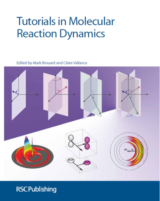 the front cover of tutorials in reaction dynamics